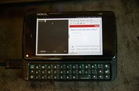 i3wm on the Nokia N900