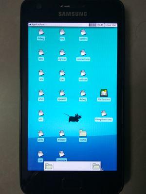 Samsung Galaxy SII (samsung-i9100) - postmarketOS