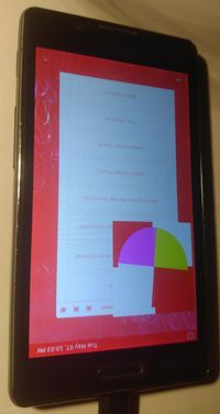 lg-vee7e with red, inverted screen
