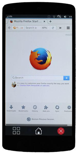Firefox - postmarketOS
